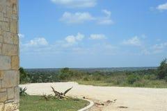 White rock road landscape Stock Photography
