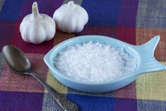 White rock salt Royalty Free Stock Image