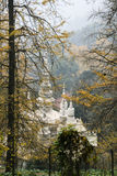 White rock temple in sichuan,china. White rock temple is taken in sichuan,china royalty free stock photo