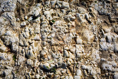 White Rockface Background Structure Stock Photo