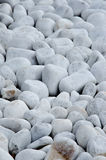 White rocks Royalty Free Stock Photography