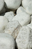 White rocks Stock Photography