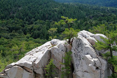 white rocks Zdjęcie Stock