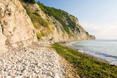 White rocks in Bulgaria. Stock Photography