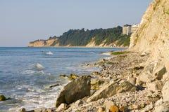 White rocks in Bulgaria. Stock Image