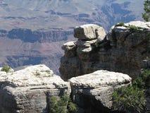 White rocks Grand Canyon Royalty Free Stock Photography