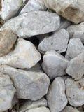 White rocks Royalty Free Stock Photos