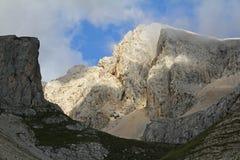 White rocks; Pass of Cirelle Stock Photos