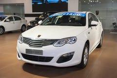 White roewe 550 car Stock Photo