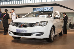 White roewe 350 car Stock Photos