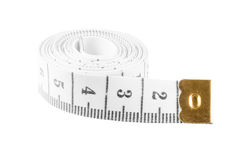 White rolled centimeter Stock Photo
