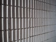 White Roman Wall Tiles Background. Perspective White Roman Wall Tiles - waves Royalty Free Stock Image
