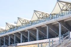White roof over sport stadium Stock Image