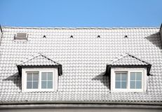 White roof Royalty Free Stock Photo
