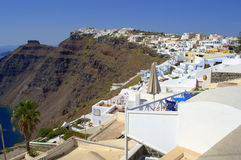 White houses Santorini,Greece Royalty Free Stock Photo