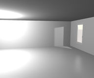 White Room Background Royalty Free Stock Image