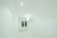 White Room with Balcony Door Stock Photography