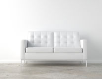 White room and couch Royalty Free Stock Photography