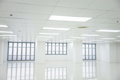 White room and empty space with windows Royalty Free Stock Image
