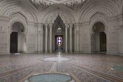 White Room inside the Sammezzano castle Stock Photography