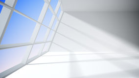 White room with window Royalty Free Stock Photos