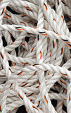 white rope Stock Photo