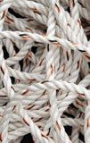 White Rope Stock Photo