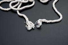 White rope Royalty Free Stock Image