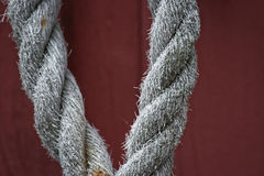 White rope Royalty Free Stock Images