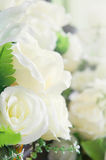 White rose Artificial Flowers Beautiful as the real thing Royalty Free Stock Images