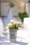 White Rose Bouquet Stock Image