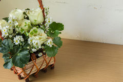 White rose placed Stock Images