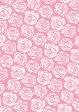 White rose wallpaper royalty free illustration