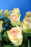 White roses. In the vase Royalty Free Stock Photos