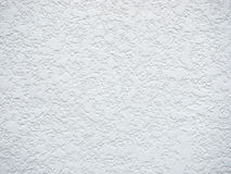 White rough concrete wall texture. Royalty Free Stock Images