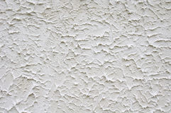 White rough plaster on wall Royalty Free Stock Photography