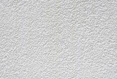 White rough plaster on wall closeup Stock Photos