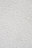 White rough plaster on wall Stock Photo