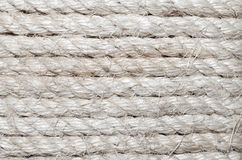 White rough rope background Stock Photos