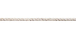 White rough rope close up Royalty Free Stock Images