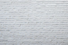 White rough stone wall Royalty Free Stock Photos