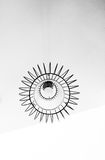 White Round Ceiling Light Royalty Free Stock Images