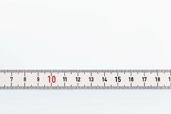 White ruler Royalty Free Stock Photos