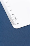 White ruler Royalty Free Stock Images