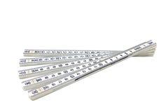 White ruler Stock Photo