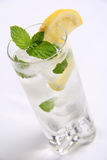 White rum mojito cocktail Stock Images