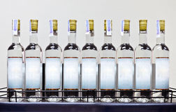 White rum on the shelf Royalty Free Stock Images