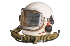 White russian army aviator helmet Royalty Free Stock Photo