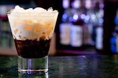 White russian cocktail Royalty Free Stock Images