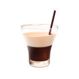 White russian cocktail realistic Stock Photography